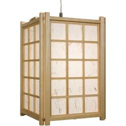 Fine Asianliving Japanse Lamp Shoji Rijstpapier Houten Hanglamp Dofu Naturel