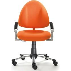 24Designs Kinderbureaustoel Skool - Oranje