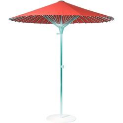 China Parasol met GRATIS Stalen Parasolvoet | SORARA | Rood |  200 cm