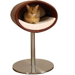 Pet-Interiors Rondo Leer Kattenstandaard Kunstleder noga