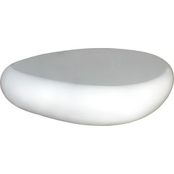 The High Gloss Coffee Table - White
