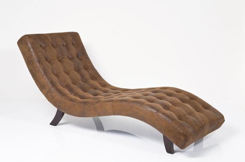 Relax Fauteuil Bruin.Kare Design Relax Fauteuil Snake Vintage Bruin Kunstleer
