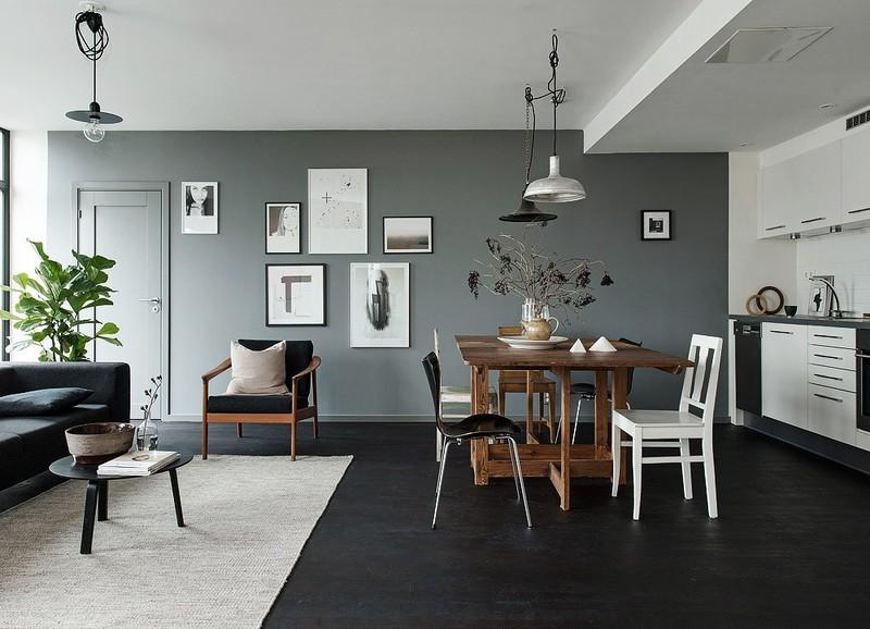 Woonkamer Ideeen Zwart.5 Tips Voor Een Donkere Vloer Alles Om Van Je Huis Je Thuis Te