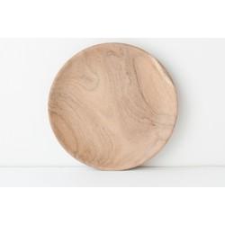 Plate Acacia Wood - Ø18 cm