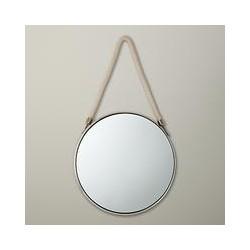 John Lewis Porthole Mirror, 38 x 38cm, Silver