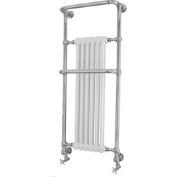 Van Heck Kingston designradiator 141x58cm 1006W Chroom