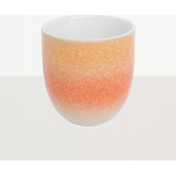 Urban Nature Culture mug reactive glaze Orange foam
