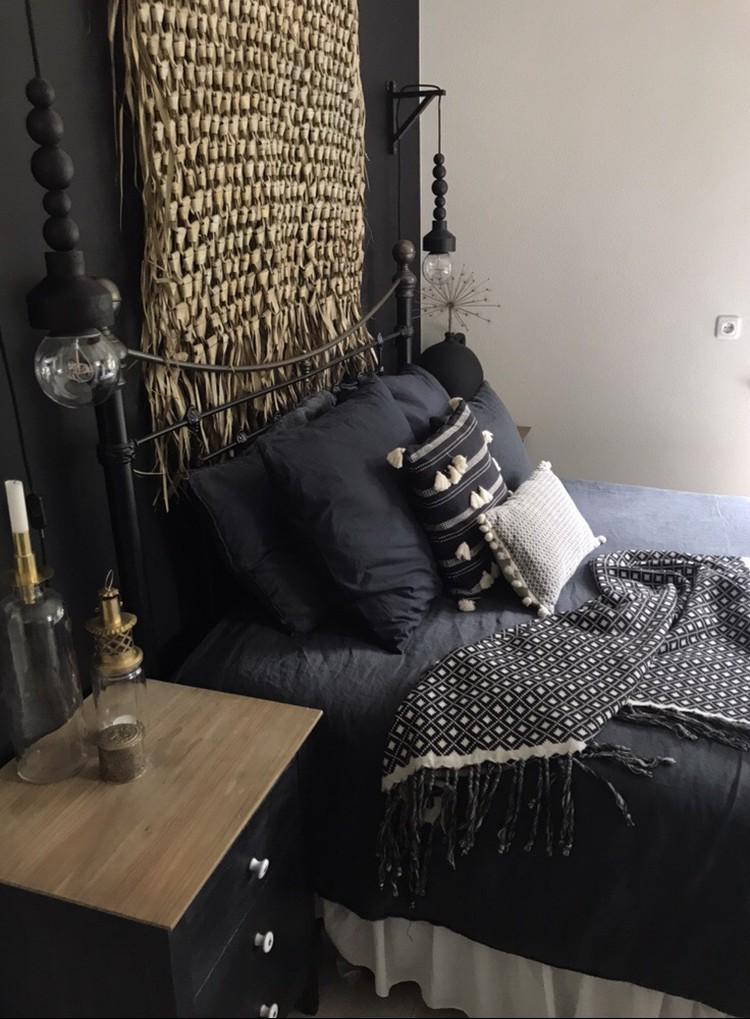 slaapkamer wandkleed