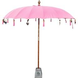 Todo Bien Bali parasol roze 250 cm