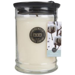 Bridgewater Jar Large White Cotton