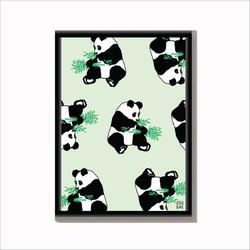 Dierenposter Panda - A4