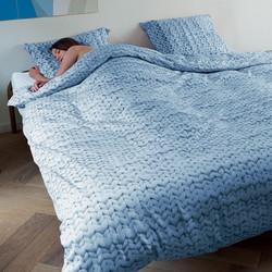 Snurk Beddengoed Twirre Arctic Blue-140x200/220