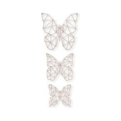 Graham & Brown Flutter Metal Art, Brown