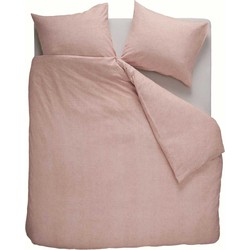 Beddinghouse Dekbedovertrek Flanel Frost Soft Pink-200x200/220