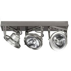 ETH Plafondspot Lofar 3-Lichts - RVS - Staal