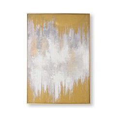Graham & Brown Lakeside Reflection Hand Painted Canvas, Brown