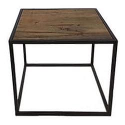 MD Interior Rosso salontafel 45x45x40 mangohout vierkant