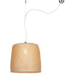 Hanglamp Serengeti bamboe enkel, naturel