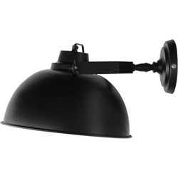 LABEL51 - Wandlamp Urban 30x38x20 cm - Industrieel - Mat zwart