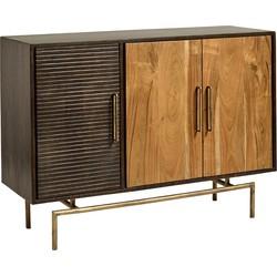 Nordal Dressoir Buffet hout naturel 85 x 120 x 40