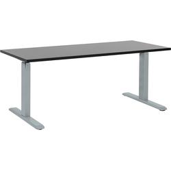 Bureau elektrisch verstelbaar zwart/grijs 180 x 80 cm UPLIFT II