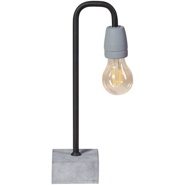ETH tafellamp Concrete Bow zwart -