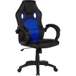 Bureaustoel - burostoel - draaistoel - marineblauw - REST