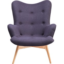 Kare Design Fauteuil Angels Wings - Donkergrijs