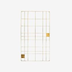 vtwonen Memobord 60 x 105 cm - Goud