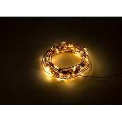 Groenovatie LED Feestverlichting Prikkabel, 5 Meter, Waterdicht IP65, Warm Wit, Op 3xAA Batterijen