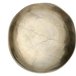 Mica Decorations schaal goud maat in cm: 45