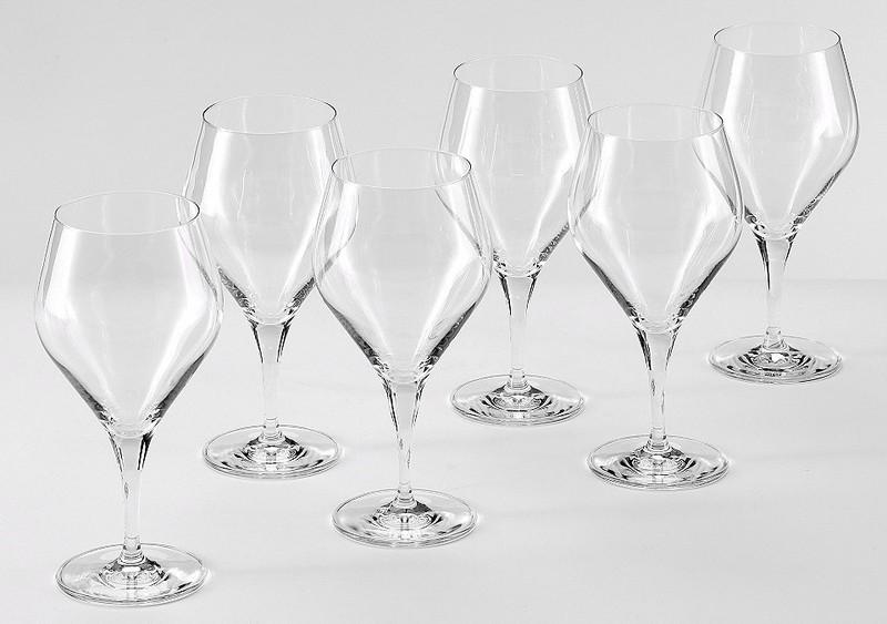 Alexander Herrmann Wassergläser, Kristallglas, 6 Stück, 385 ml, Made in Germany, »CLASSIC Linie« -