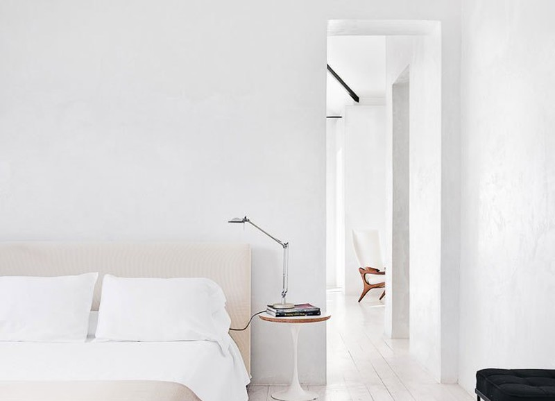 Wegdromen: minimalistische slaapkamers!