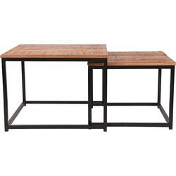 LABEL51 - Salontafel Set Couple - 60 cm | 50 cm