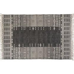 Lifestyle Silvo Vloerkleed Zwart/Ivoor - 240 x 170 cm