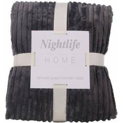 Nightlife - Plaid - Rib - Lycra / elastaan - Grijs