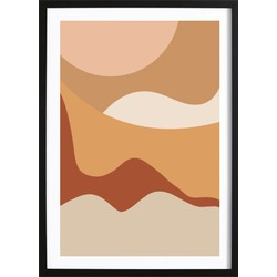 Desert Abstract Poster (21x29,7cm)