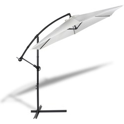 Hangende parasol 300cm - creme - Lifa Living