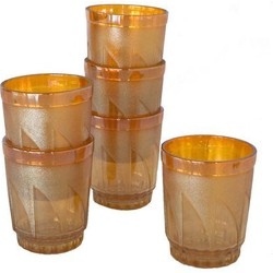 Moroccan tea glasses 70's