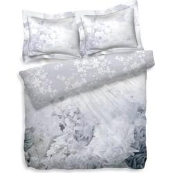 Heckett Lane Dekbedovertrek Katoen Satijn Florentina - Bright White 260x200/220cm