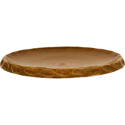 Plate 13 cm olijf