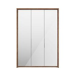 John Lewis Satis 150cm Wardrobe with Bronzed Mirrored Hinged Doors