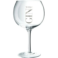 Gin Tonic Glas Op Voet 6 st.