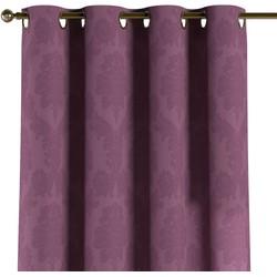 Gordijn met ringen paars