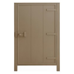 HK-living kast met enkele deur taupe 81x36x122cm