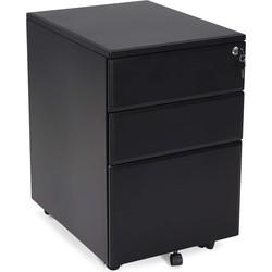 Kokoon Officio ladekast 61x52x40 cm - zwart