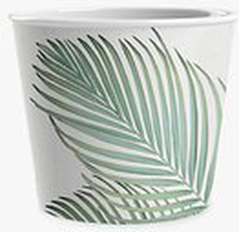 Eddingtons Leaf Ice Cream Melamine Bowls, Set of 3, Green -