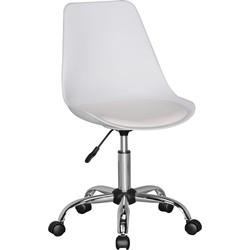 24Designs Bureaustoel Dex Office - Witte Zitting