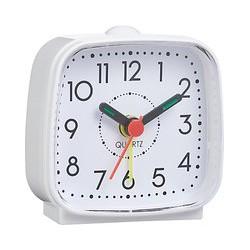 John Lewis & Partners Alarm Clock, White