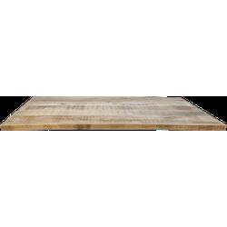 Rechthoekig tafelblad - 180x90 cm - mangohout